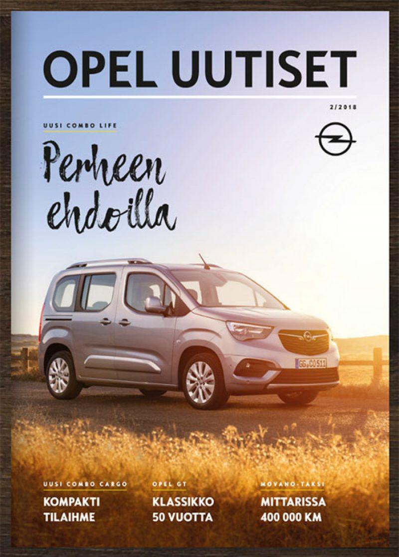 Syksyn Opel-uutiset lehti on nyt julkaistu