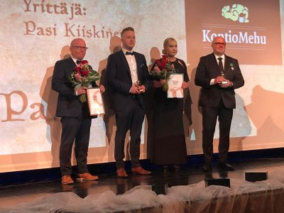 Timosen Auto sai Maakunnan Vuoden Yrittäjäpalkinnon. Katso yritysvideo!
