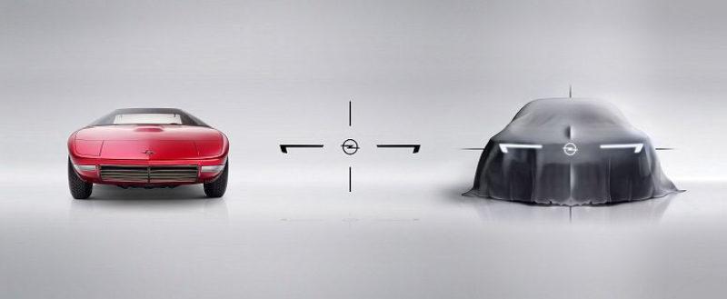 Opel näyttää vilauksen tulevaisuudestaan